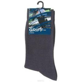 Носки мужские Griff Classic, цвет: темно-серый. A1. Размер 45/47