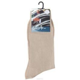 Носки мужские Griff Premium, цвет: бежевый. E4. Размер 42/44