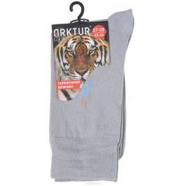 Носки мужские Arktur, цвет: светло-серый. J 008. Размер 43/45