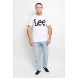 Футболка мужская Lee, цвет: белый. L64CAI12. Размер L (50)