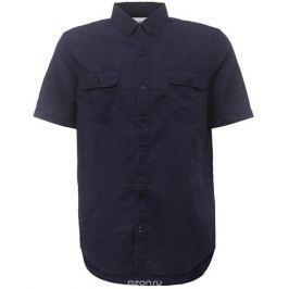 Рубашка мужская Sela, цвет: темно-синий. Hs-212/763-7213. Размер 38 (42)