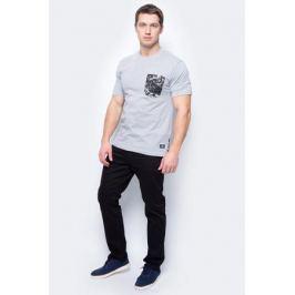 Футболка мужская DC Shoes, цвет: серый. EDYKT03323-KNFH. Размер L (50/52)