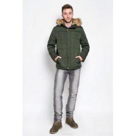 Куртка мужская Finn Flare, цвет: темно-зеленый. A16-22018_905. Размер L (50)