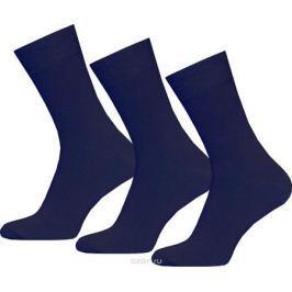Носки мужские Брестские Classic, цвет: темно-синий, 3 пары. 14С2122-000. Размер 29
