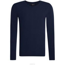 Джемпер мужской oodji Basic, цвет: темно-синий. 4B112003M/34390N/7900M. Размер XXL (58)