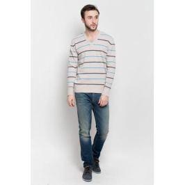 Джемпер мужской D&H Basic, цвет: бежевый. А601030907. Размер L (52)