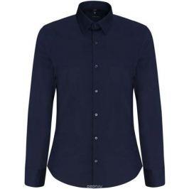 Рубашка мужская oodji Basic, цвет: темно-синий. 3B140000M/34146N/7900N. Размер 40-182 (48-182)