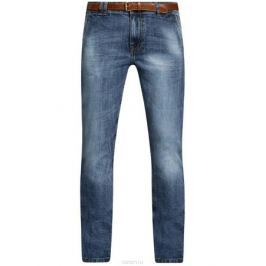 Джинсы мужские oodji Lab, цвет: синий джинс. 6L100018M/46627/7500W. Размер 29-34 (46-34)