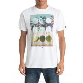Футболка мужская Quiksilver, цвет: белый. EQYZT04282-WBB0. Размер M (48/50)