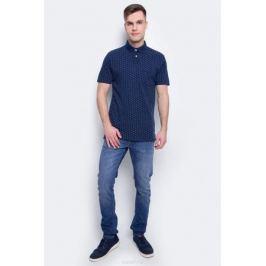 Рубашка-поло мужская Lee, цвет: синий. L60UPZPS. Размер XXL (54)