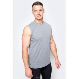 Майка мужская Adidas, цвет: темно-серый. B45912. Размер S (44/46)