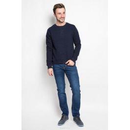 Свитшот мужской Sela Casual Wear, цвет: темно-синий. St-213/815-6323. Размер M (48)