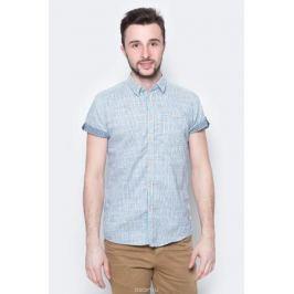 Рубашка мужская Tom Tailor, цвет: синий, белый. 2033332.00.10_6000. Размер L (50)