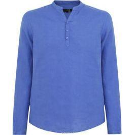 Рубашка мужская oodji Basic, цвет: синий. 3B320002M/21155N/7500N. Размер XL-182 (56-182)