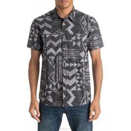 Рубашка мужская Quiksilver, цвет: серый. EQYWT03448-KZE6. Размер XL (54)