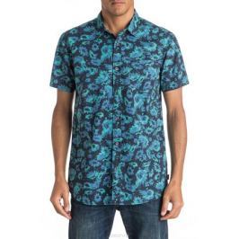 Рубашка мужская Quiksilver, цвет: синий. EQYWT03471-BYJ6. Размер L (52)