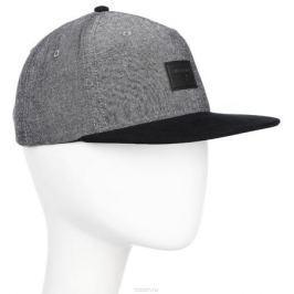 Бейсболка Billabong Oxford Snapback, цвет: серый, черный. 3607869368813. Размер универсальный