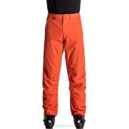 Брюки утепленные мужские Quiksilver Estate, цвет: оранжевый. EQYTP03064-NMS0. Размер M (48)