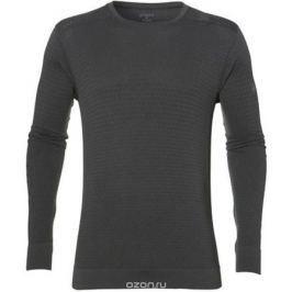 Футболка для бега мужская Asics Fuzex Seamless LS, цвет: серый. 146615-0779. Размер L (50/52)
