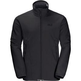 Куртка мужская Jack Wolfskin Northern Pass Jacket, цвет: черный. 1305331-6000. Размер XXXL (56)