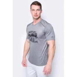 Футболка мужская Rukka, цвет: темно-серый. 979452217RV_899. Размер XL (54)