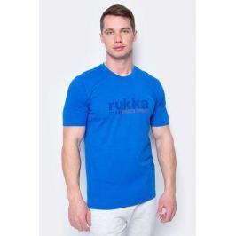 Футболка мужская Rukka, цвет: синий. 979458215RV_343. Размер L (52)