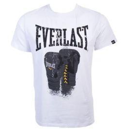 Футболка мужская Everlast Logo Protex Gloves, цвет: белый. RE0041. Размер XXL (54/56)