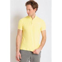 Рубашка-поло мужская Finn Flare, цвет: желтый. B18-21039. Размер 3XL (56)
