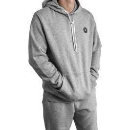 Толстовка мужская Converse Chuck Patch Graphic Pullover Hoodie, цвет: серый. 10006680035. Размер L (50)