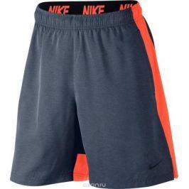 Шорты мужские Nike Flex Training Short, цвет: серый, оранжевый. 833271-471. Размер M (46/48)
