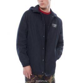 Ветровка мужская Vans Torrey Hooded Mte, цвет: черный. VA371KBLK. Размер XL (52/54)