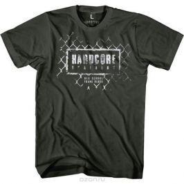 Футболка мужская Hardcore Training Grid Grey, цвет: серый. hctshirt0183. Размер S (46)