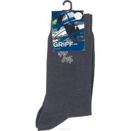 Носки мужские Griff Classic Bamboo, цвет: темно-серый. B51. Размер 45/47