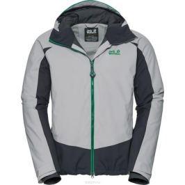 Куртка мужская Jack Wolfskin Exolight Base Jacket, цвет: светло-серый. 1109751. Размер L (48/50)