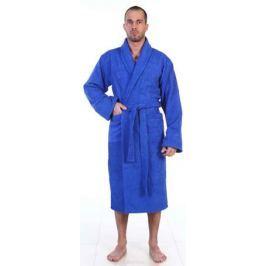 Халат мужской Amo La Vita, цвет: синий. ХМХМ0123. Размер 56