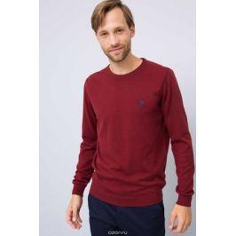 Джемпер мужской U.S. Polo Assn., цвет: бордовый. G081GL0TK0GTD01-BSK7. Размер L (52)