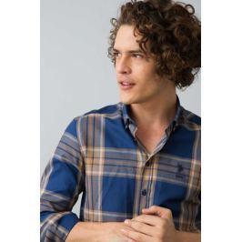 Рубашка мужская U.S. Polo Assn., цвет: темно-синий. G081GL004ARMARAMSI. Размер M (50)