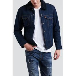 Куртка мужская Levi's® Sherpa Trucker, цвет: темно-синий. 1636500600. Размер XXL (54)