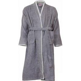 Халат мужской Hobby Home Collection Sude, цвет: серый. 15010014. Размер L (48/50)