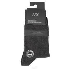 Носки мужские Mirey, цвет: темно-серый. MSC 003. Размер (41/43)
