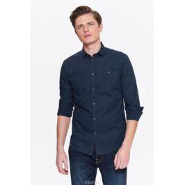 Рубашка мужская Top secret, цвет: синий. SKL2544NI. Размер 44/45 (52)