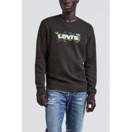 Свитшот мужской Levi's®, цвет: черный. 1789500470. Размер XXL (54)