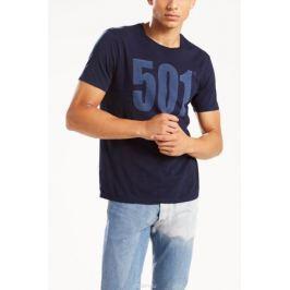 Футболка мужская Levi's®, цвет: темно-синий. 2657200320. Размер S (46)