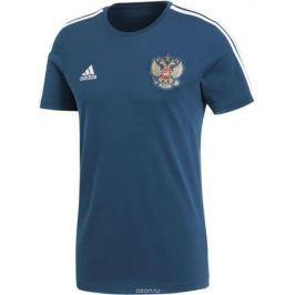 Футболка мужская Adidas Rfu 3s Tee, цвет: синий. CF0571. Размер L (52/54)