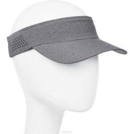 Козырек мужской Asics Visor Performance, цвет: серый. 155012-0720. Размер универсальный
