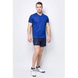 Костюм спортивный мужской Asics Man Volleyball Set: футболка, шорты, цвет: синий. 156850-0805. Размер XXXL (54)