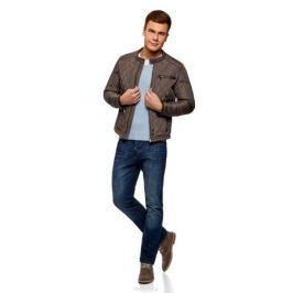 Куртка мужская oodji Lab, цвет: серый. 1L111034M/47801N/2300N. Размер XL (56-182)