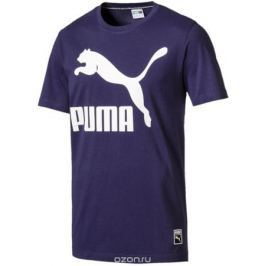 Футболка мужская Puma Archive Logo Tee, цвет: синий. 57239276. Размер XXL (52/54)