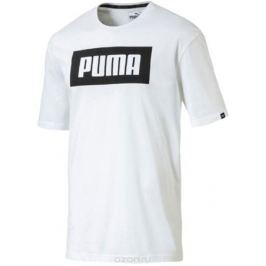 Футболка мужская Puma Rebel Basic Tee, цвет: белый. 85055402. Размер XXL (52/54)