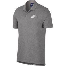 Поло мужское Nike NSW Polo PQ Matchup, цвет: серый. 909746-063. Размер L (50/52)